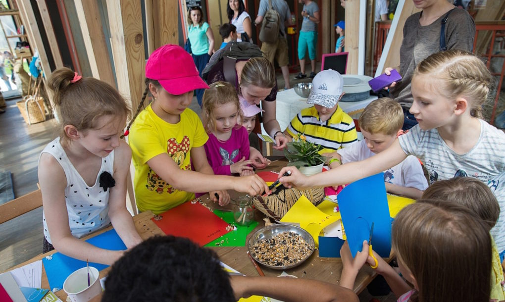 Moscow's Urban Farm Teaches Kids How to Grow Their Own Food