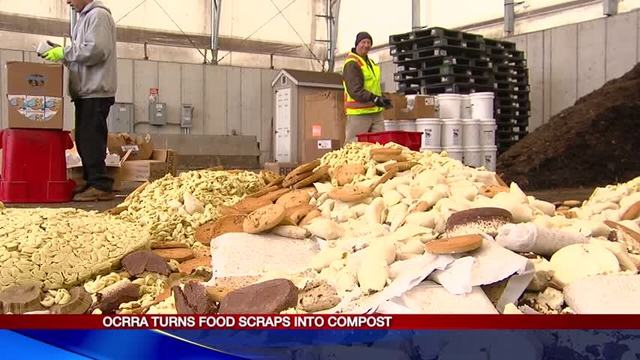 OCRRA taking large suppliers' food scraps and making compost
