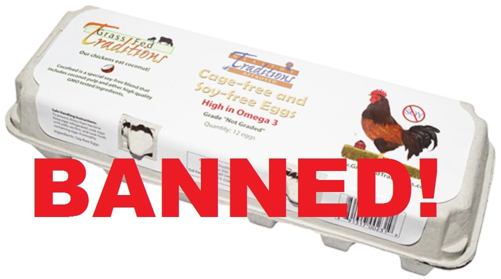 Wisconsin Shuts Down Soy-free Egg Market: Denies Consumers Choice to Purchase Healthy Eggs