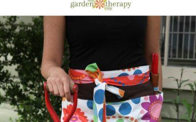 DIY Summer Blooms Garden Apron