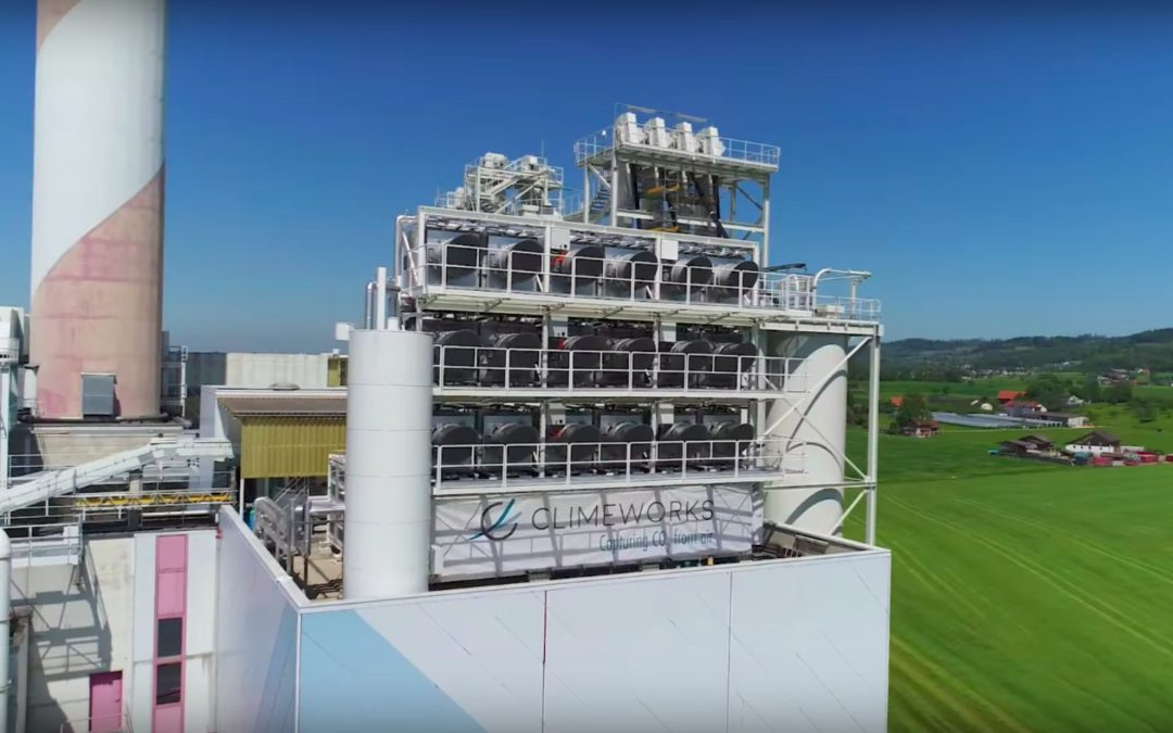 First commercial carbon capture plant is going live in Switzerland