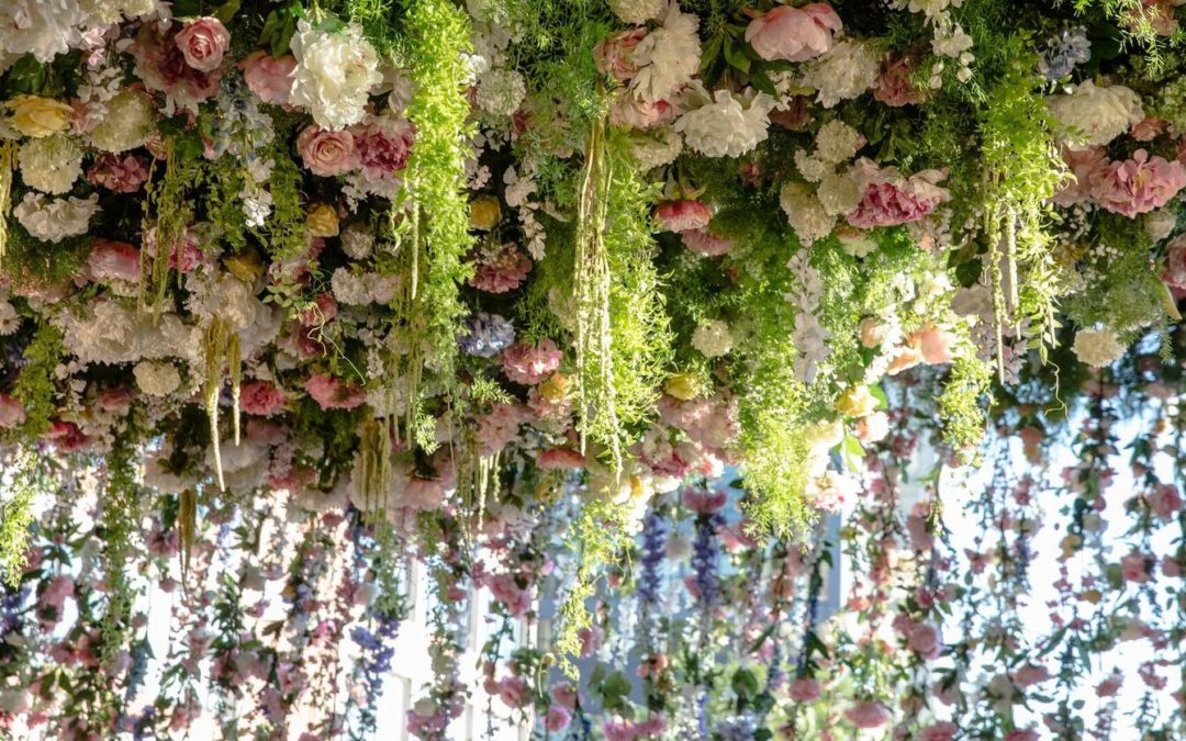 Lily Kwong Used 13,000 Flowers to Transform New York's High Line Into a Hanging Garden of Delights