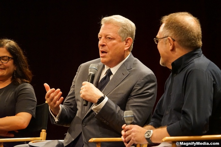 Al Gore Takes On Trump On 'Provable Idiocy'