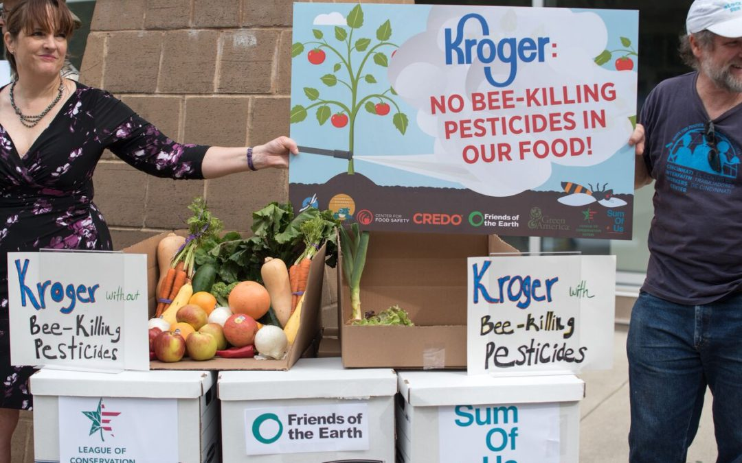 What Kroger Can Do To Protect People, Pollinators and the Planet