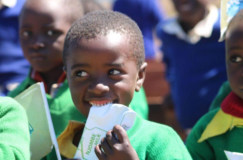 Helping Others Through Heifer's School Milk Feeding Program