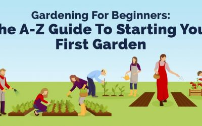 GARDENING FOR BEGINNERS: THE A-Z GUIDE TO STARTING YOUR FIRST GARDEN